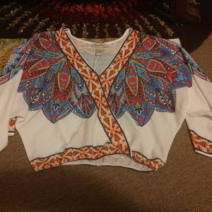 Flying Tomato Feather Top S
